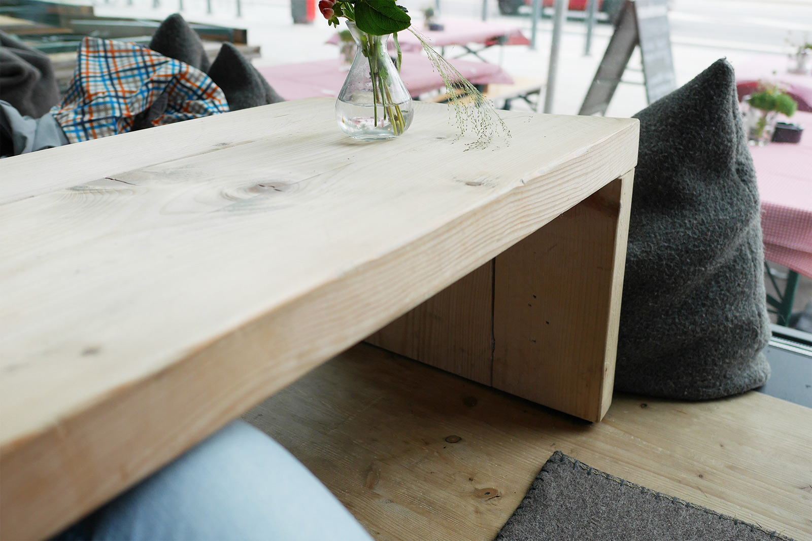 elevated bench