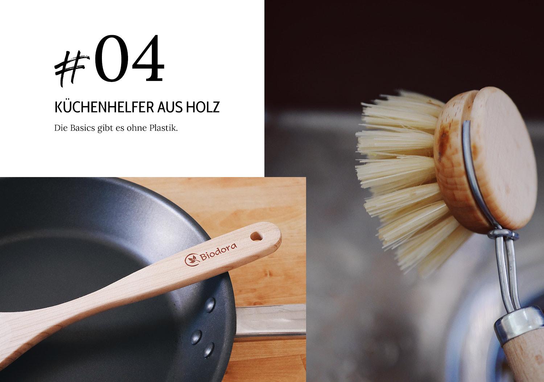 Küchenhelfer aus Holz