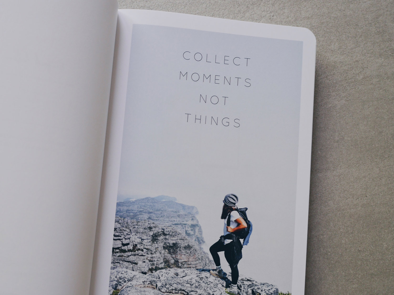 Collect moments not things Blogprojekt