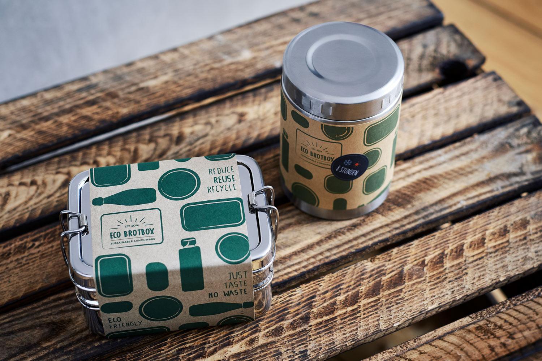 ECO Brotbox Verpackung