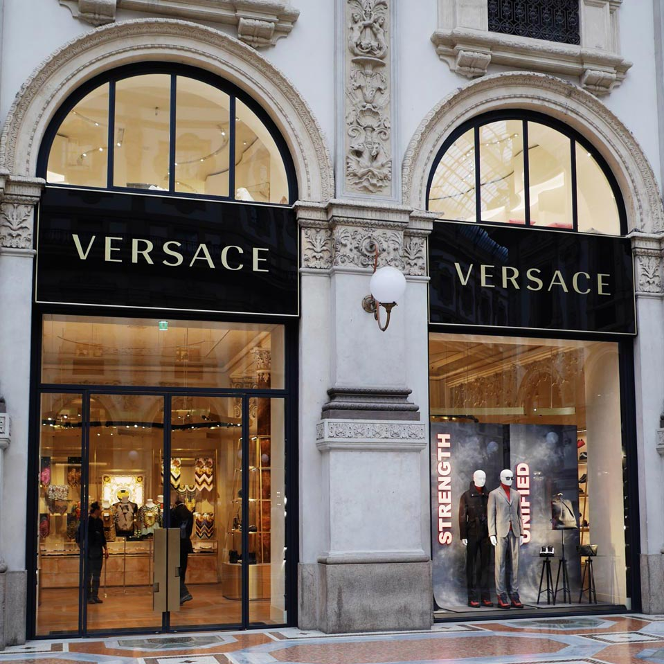 Luxusmarken Mailand Versace