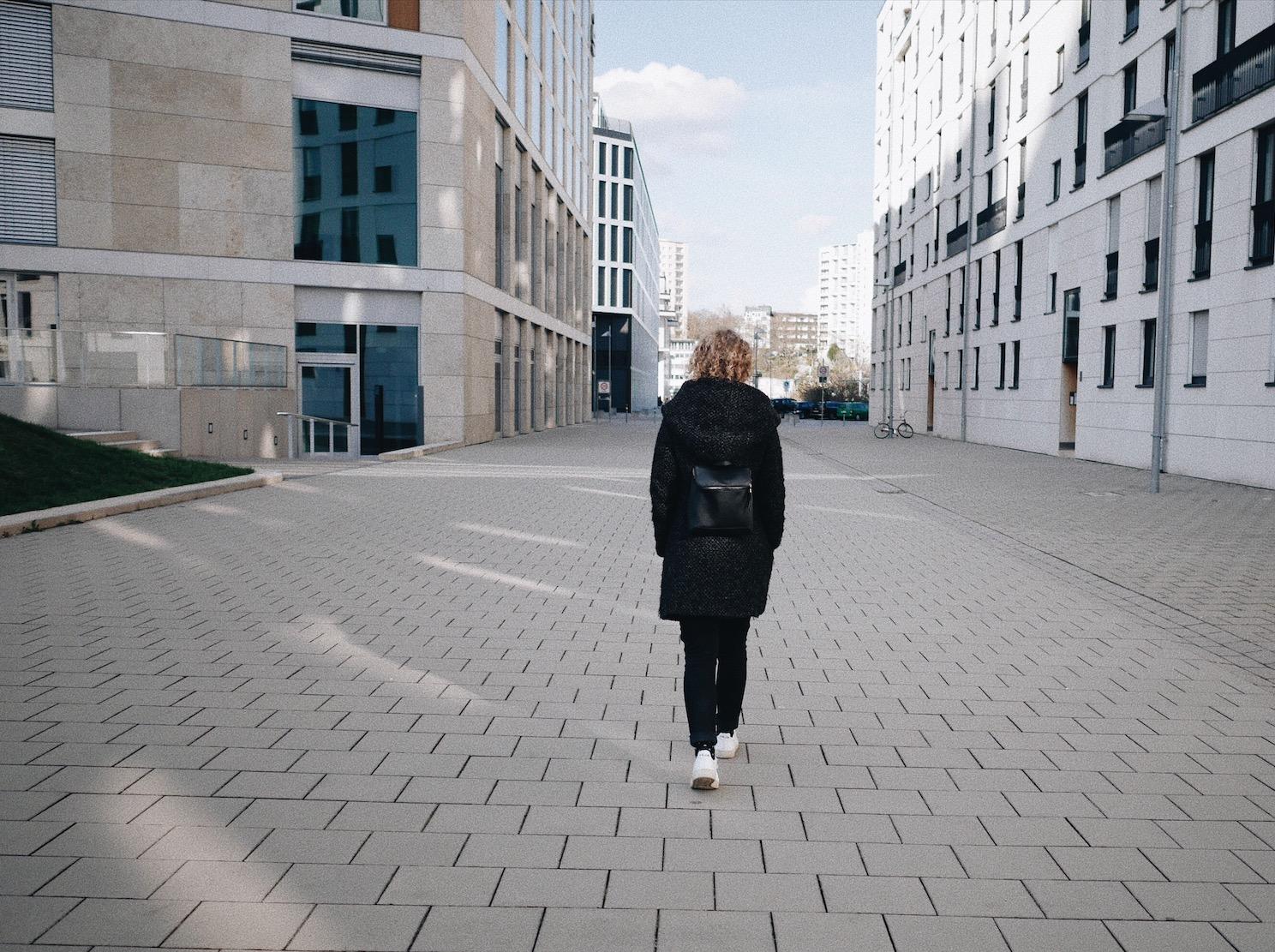 Stadt zu Fuß