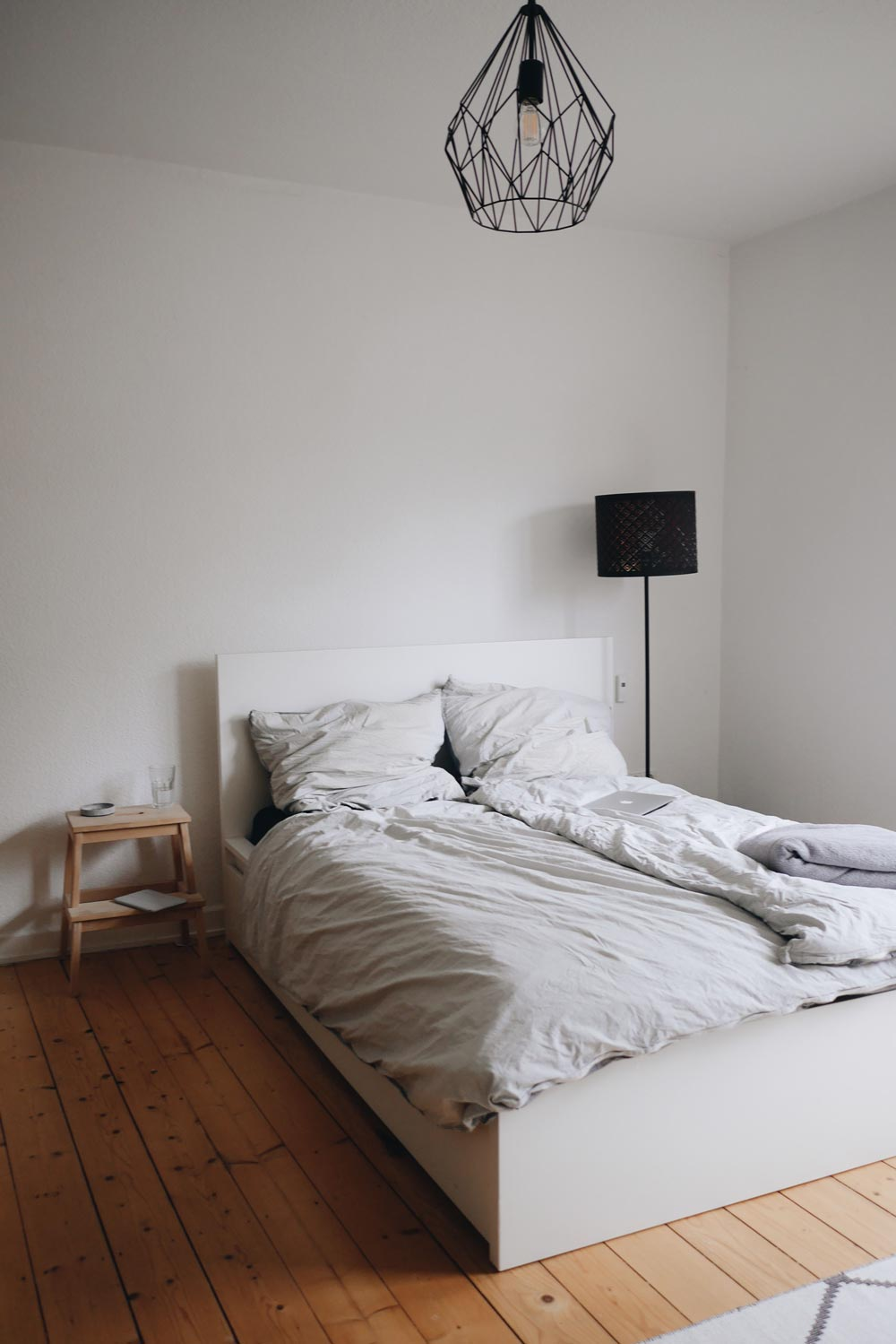 Minimalismus im Schlafzimmer