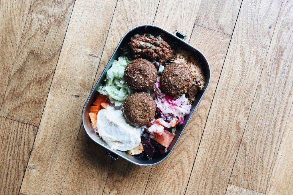 Falafel in eigener Box Hamburg