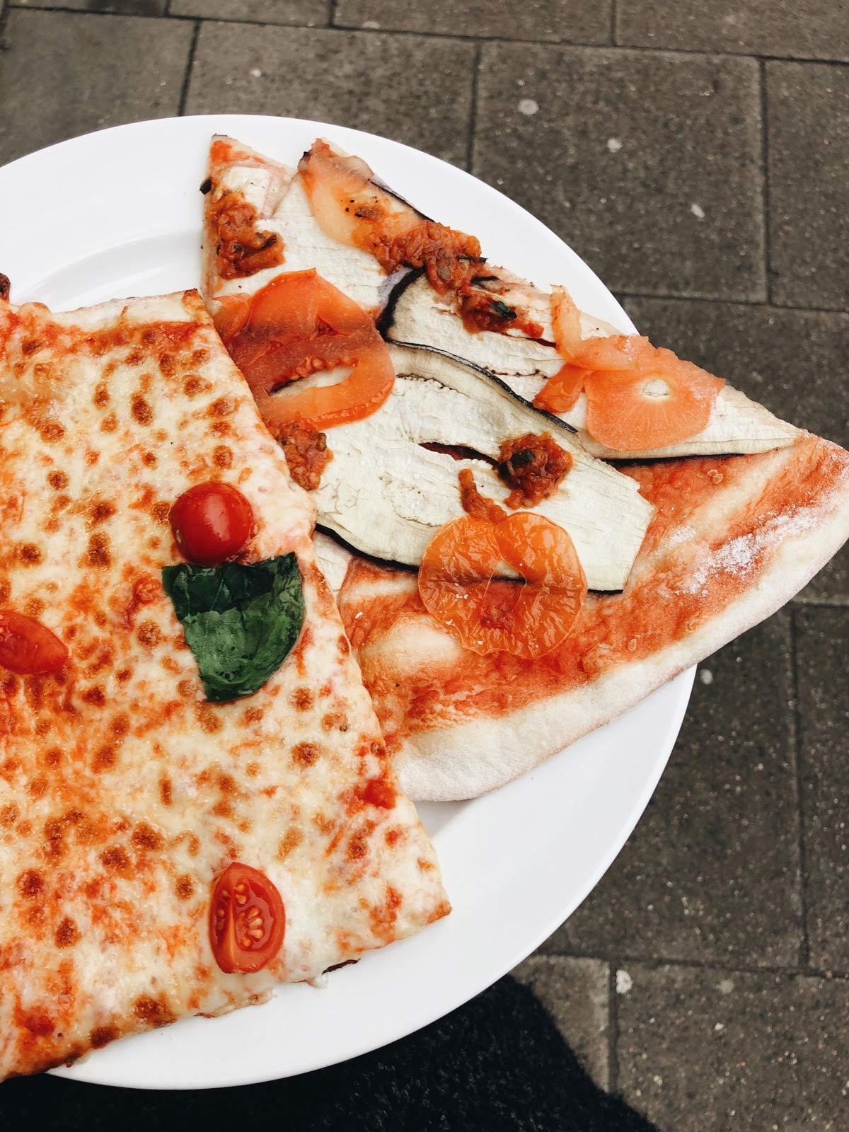 müllfreies Pizza Takeaway mit eigenem Teller